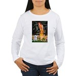 Fairies & Maltese Women's Long Sleeve T-Shirt