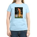 Fairies & Maltese Women's Light T-Shirt