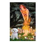 Fairies & Maltese Postcards (Package of 8)