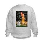 Fairies & Maltese Kids Sweatshirt