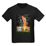 Fairies & Maltese Kids Dark T-Shirt