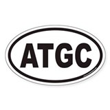 ATGC Euro Oval Decal