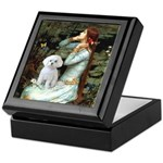 Ophelia's Maltese Keepsake Box