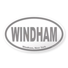 WINDHAM Euro Oval Decal