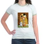 The Kiss / Maltese Jr. Ringer T-Shirt