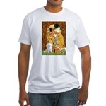 The Kiss / Maltese Fitted T-Shirt