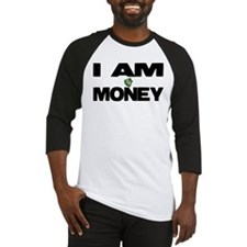 I AM MONEY Baseball Jersey