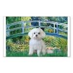 Bridge / Maltese Sticker (Rectangle)