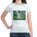 Bridge / Maltese Jr. Ringer T-Shirt