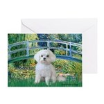 Bridge / Maltese Greeting Card