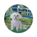 Bridge / Maltese Ornament (Round)