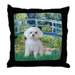 Bridge / Maltese Throw Pillow