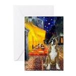 Cafe & Boxer Greeting Cards (Pk of 20)