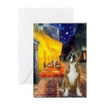 Cafe & Boxer Greeting Card
