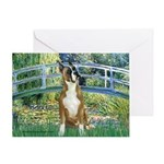 Bridge & Boxer Greeting Card
