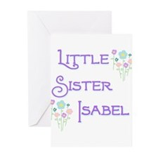 Little Sister Isabel Greeting Cards (Pk of 10)