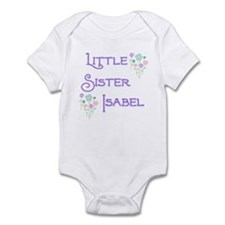Little Sister Isabel Infant Bodysuit
