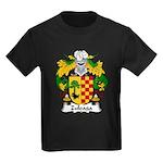 Zuloaga Family Crest Kids Dark T-Shirt