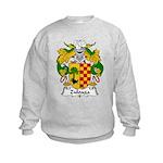 Zuloaga Family Crest Kids Sweatshirt