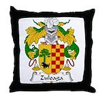 Zuloaga Family Crest Throw Pillow