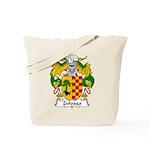 Zuloaga Family Crest Tote Bag