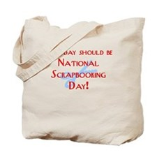 National Scrapbooking Day Tote Bag