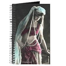 Vintage Bellydance Gypsy Girl Journal