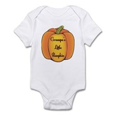 Grampa's Little Pumpkin Infant Bodysuit