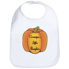 Grampa's Little Pumpkin Bib