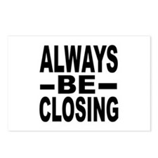 """Always Be Closing"" Postcards (Package of 8)"