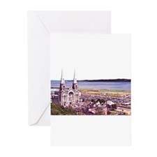 Sainte Anne Beaupre Basilic Greeting Cards (Pk of