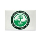 Going Green North Carolina (Tree) Rectangle Magnet