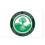 Going Green North Carolina (Tree) Postcards (Packa