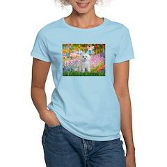 Garden / Maltese Women's Light T-Shirt