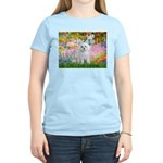 Garden / Maltese Women's Light T-Shirt