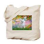 Garden / Maltese Tote Bag