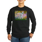 Garden / Maltese Long Sleeve Dark T-Shirt