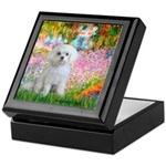 Garden / Maltese Keepsake Box