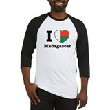 I love Madagascar Baseball Jersey