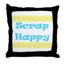 Scrap Happy Throw Pillow