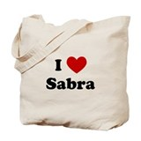 I Heart Sabra Tote Bag