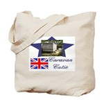 Caravan Cutie Flag Tote Bag