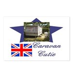 Caravan Cutie Flag Postcards (Package of 8)