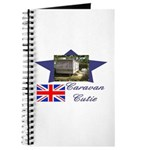 Caravan Cutie Flag Journal