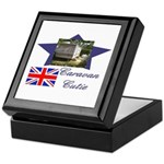 Caravan Cutie Flag Keepsake Box