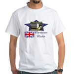 Caravan Cutie Flag White T-Shirt