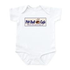 Pitt Bull Cafe Infant Bodysuit