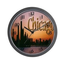 Chicago Lake Side Wall Clock