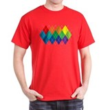 Rainbow Argyle T-Shirt