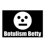 Botulism Betty Postcards (Package of 8)